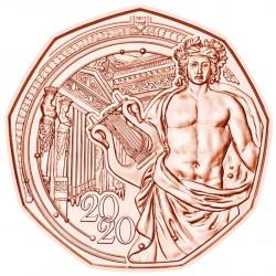 Oostenrijk 5 euro 2020 Neujahrsmunze - Musikverein UNC