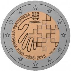 Portugal 2 euro 2015 '150 jaar Rode Kruis' UNC