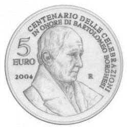 San Marino 5 euro 2004 'Bartolomeo Borghesi´ UNC