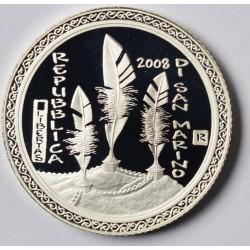 San Marino 5 euro 2008 'Olympische Spelen´ Proof