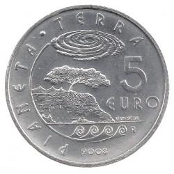 San Marino 5 euro 2008 'Planeet Aarde´ UNC