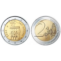 San Marino 2 euro 2002 UNC - type 1