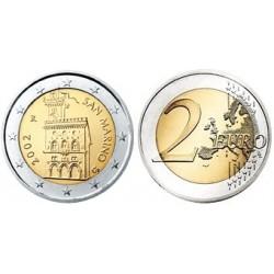 San Marino 2 euro 2019 UNC - type 2