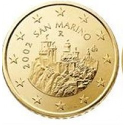San Marino 50 cent 2008 UNC