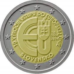 Slowakije 2 euro 2014 '10 jaar lidmaatschap EU' UNC