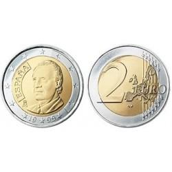 Spanje 2 euro 1999 UNC - type 1