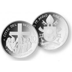 Vaticaan 10 euro 2016 Proof - Wereldjongerendag