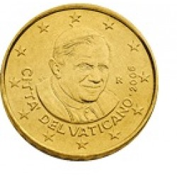 Vaticaan 50 cent 2010 UNC
