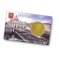 Vaticaan 50 cent 2015 coincard nr. 6
