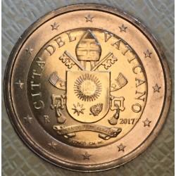 Vaticaan 2 euro 2017 UNC - type 5