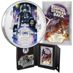 2020 Star Wars - THE EMPIRE STRIKES BACK 40th anniversary set™ - Niue 1 & 2 dollars silver coin set