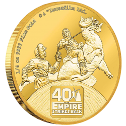 2020 Star Wars - THE EMPIRE STRIKES BACK 40th anniversary™ - Niue 25 dollars 2020 1/4 oz gold coin