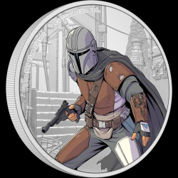 2021 Star Wars THE MANDALORIAN™ - Niue 2 dollars 1 oz silver coin