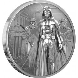 Niue 2 dollar 2016 Star Wars - Classics - 1. Darth Vader - 1 Oz. zilver