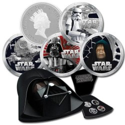 Niue 4 x 2 dollar 2011 Star Wars - Darth Vader Silver Coin Set