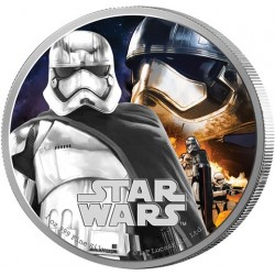 Niue 2 dollar 2016 Star Wars - The Force Awakens - 2. Captain Phasma - 1 Oz. zilver