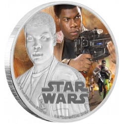 Niue 2 dollar 2016 Star Wars - The Force Awakens - 5. Finn - 1 Oz. zilver