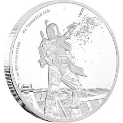 Niue 2 dollar 2017 Star Wars - Classics - 10. Boba Fett™ - 1 Oz. zilver