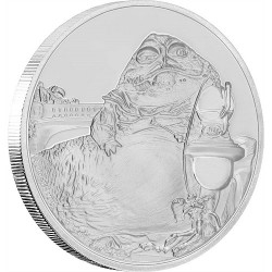 Niue 2 dollar 2018 Star Wars - Classics - 11. Jabba The Hutt™ - 1 Oz. zilver