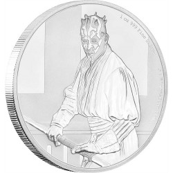 Niue 2 dollar 2018 Star Wars - Classics - 12. Darth Maul™ - 1 Oz. silver