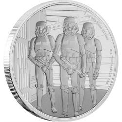 Niue 2 dollars 2019 Star Wars - Classics - 14. Stormtrooper™ - 1 Oz. silver