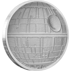 2020 Star Wars Ships - Death Star™ - Niue 2 dollars 1 oz silver coin