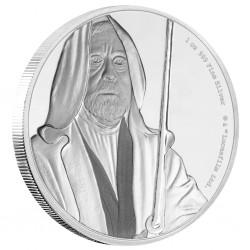 Niue 2 dollar 2017 Star Wars - Classics - 6. Obi Wan Kenobi™ - 1 Oz. zilver