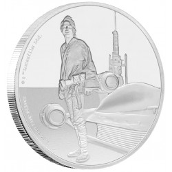 Niue 2 dollar 2017 Star Wars - Classics - 7. Luke Skywalker™ - 1 Oz. zilver
