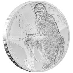 Niue 2 dollar 2017 Star Wars - Classics - 8. Chewbacca™ - 1 Oz. zilver
