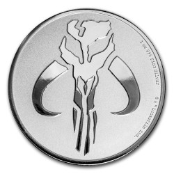 2020 Star Wars Bullion 8) MANDALORIAN: MYTHOSAUR - Niue 2 dollars 2020 1 oz silver coin