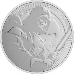 2020 Star Wars Bullion 7) DARTH VADER - Niue 2 dollars 2020 1 oz silver coin