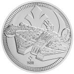 2021 Star Wars Bullion 9) MILLENNIUM FALCON - Niue 2 dollars 2021 1 oz silver coin