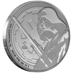 Niue 2 dollars 2018 Star Wars bullion - 3) Darth Vader - 1 Oz. silver coin