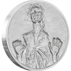 Niue 5 dollars 2017 Star Wars - 2) Han Solo™ - Ultra High Relief 2 Oz. silver coin