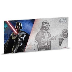 Niue 1 dollar 2018 Star Wars Coin Note - 6) A New Hope - Darth Vader™ - 5 gr silver foil