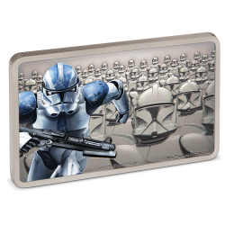 2020 Star Wars Guards of the Empire 2) CLONE TROOPER™ - Niue 2 dollars silver coin