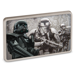 2020 Star Wars Guards of the Empire 3) DEATH TROOPER™ - Niue 2 dollars silver coin