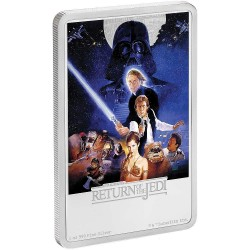 Niue 2 dollars 2017 Star Wars Posters - 3) Return of the Jedi™ - 1 Oz. silver coin