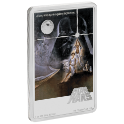 2020 Star Wars Poster 10) A New Hope™ - Niue 2 dollars 2020 1 oz silver coin