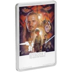 Niue 2 dollars 2018 Star Wars Posters - 4) The Phantom Menace™ - 1 Oz. silver coin