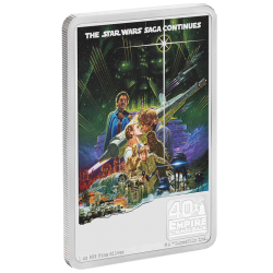 2020 Star Wars Poster 11) The Empire Strikes Back - 40th anniversary™ - Niue 2 dollars 2020 1 oz silver coin