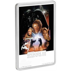 Niue 2 dollars 2018 Star Wars Posters - 6) Revenge of the Sith™ - 1 Oz. silver coin