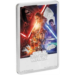 Niue 2 dollars 2019 Star Wars Posters - 7) The Force Awakens™ - 1 Oz. silver coin
