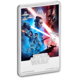 2020 Star Wars Poster 9) The Rise of Skywalker™ - Niue 2 dollars 2020 1 oz silver coin