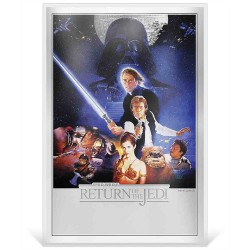 Niue 2 dollars 2018 Star Wars Premium Foil Poster - 3) The Return Of The Jedi™ - 35g. silver foil