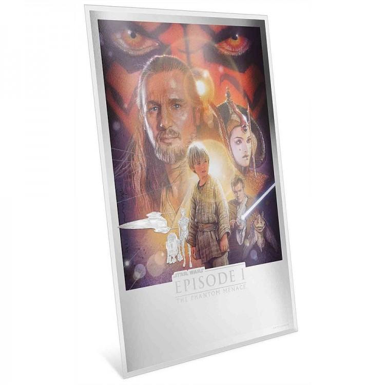 2019 Premium 35 grams Silver Foil!!!! Niue Star Wars The Phantom Menace