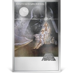 Niue 2 dollars 2018 Star Wars Premium Foil Poster - 1) A New Hope™ - 35g. silver foil