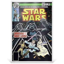 Niue 2 dollars 2019 Star Wars Premium Foil Poster - Star Wars Comic Books #21™ - 35g. silver foil