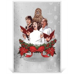 Niue 1 dollar 2019 Star Wars: Season's Greetings 2019 - 5 gr silver foil