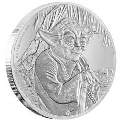 Niue 2 dollar 2016 Star Wars - Classics - 3. Yoda - 1 Oz. zilver